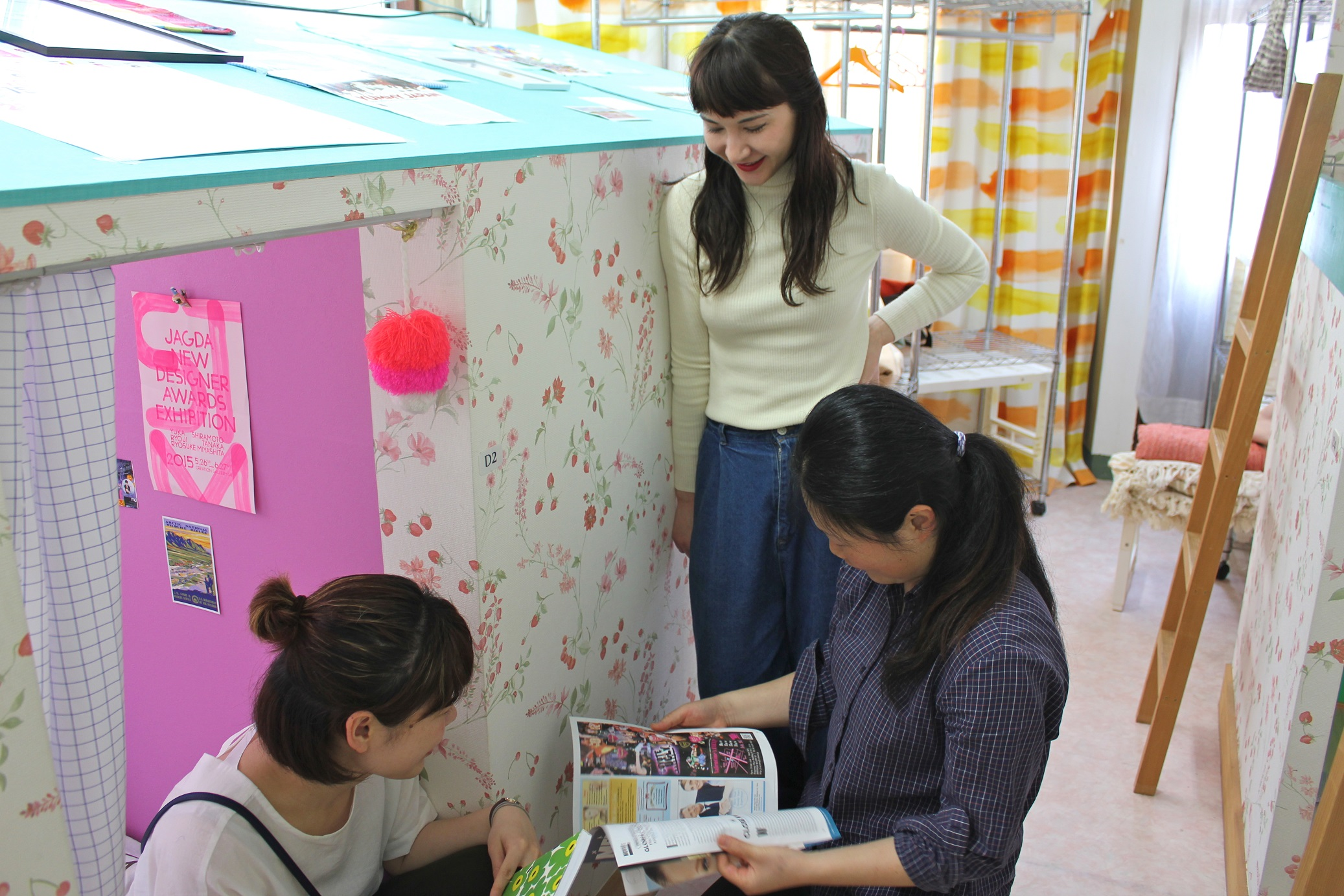 Women in hostel accommodation, Tokyo