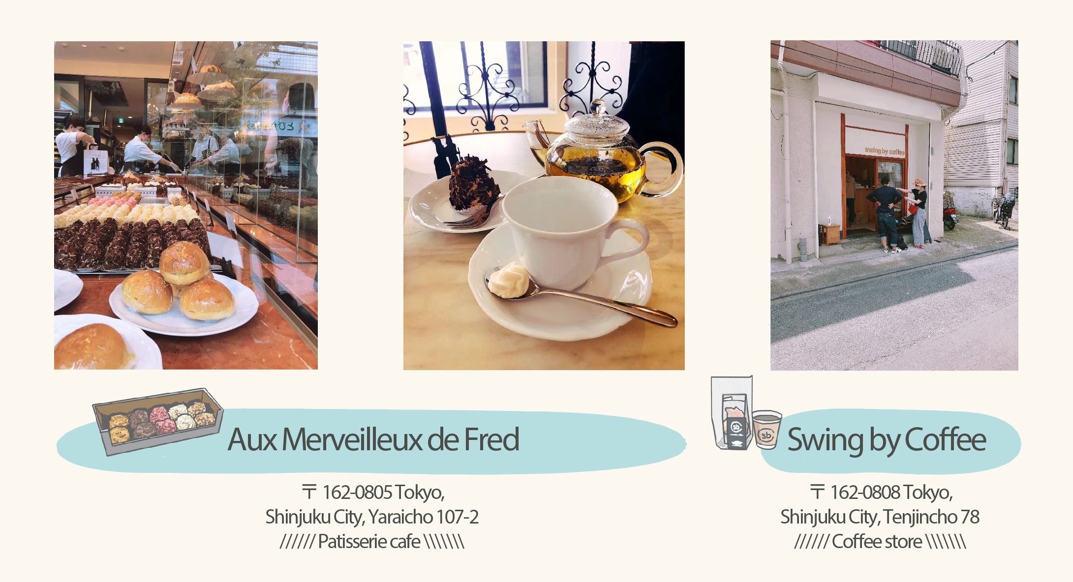 Aux Merveilleux de Fred and coffee